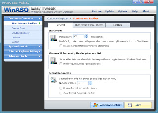 WinASO EasyTweak 3.0.4 ����� �����